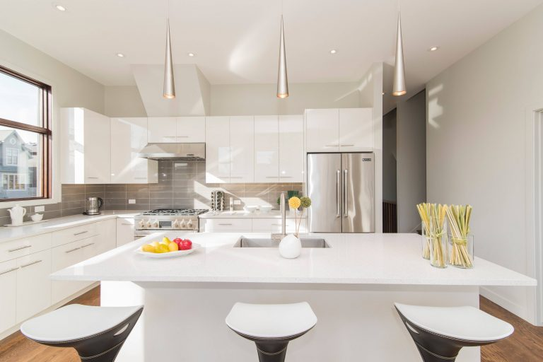 cocina para espacio pequeño